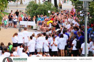 Groupama 420&470 Junior ECH 1. nap + megnyitó @ Ladányi János