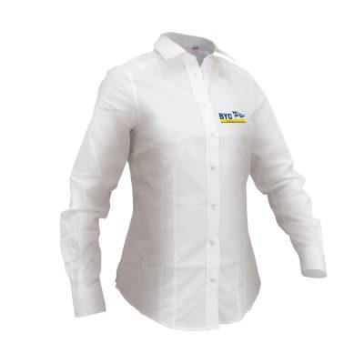 Cheval fehér hosszú ujjú ing