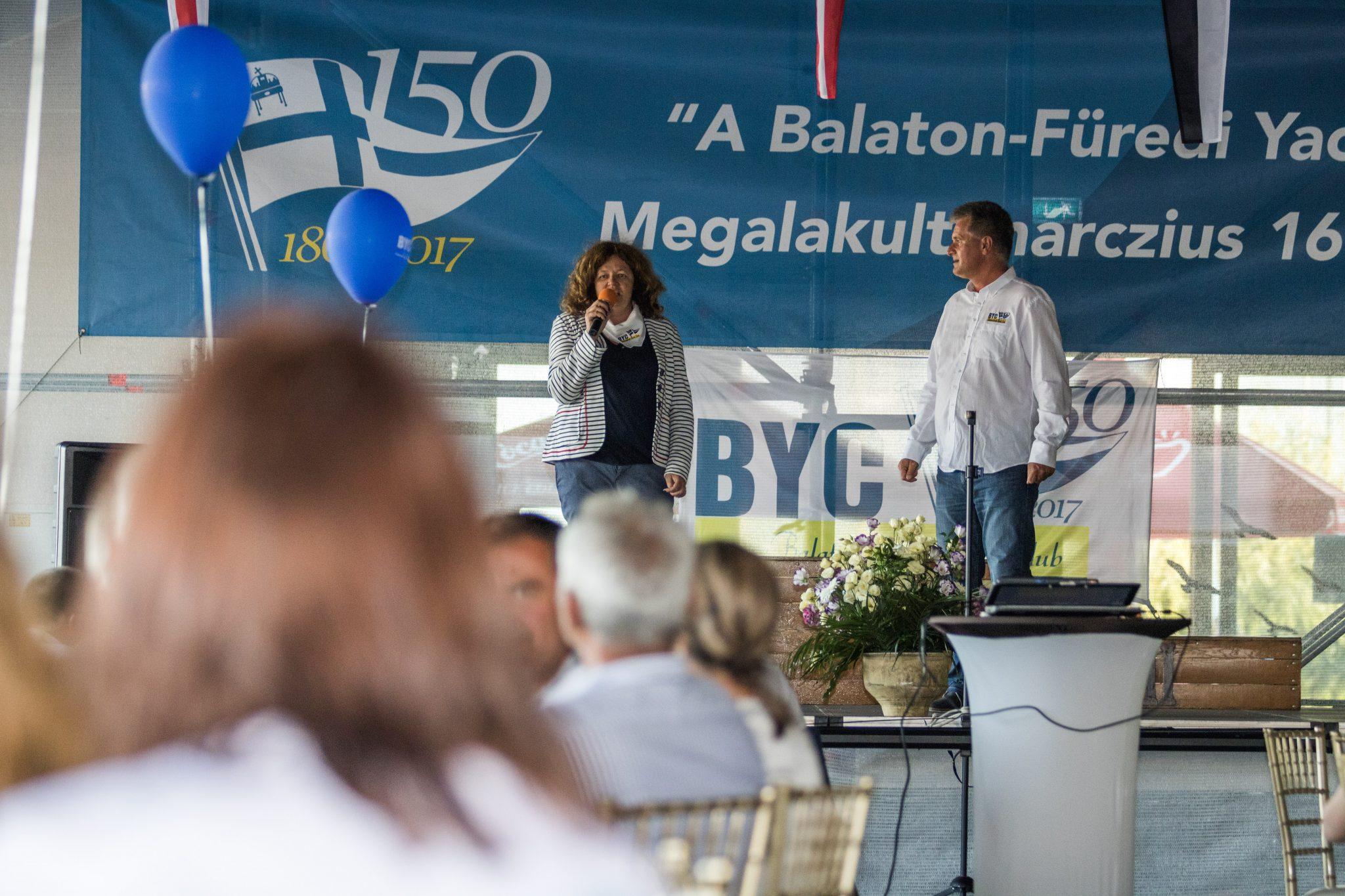 BYC150 Jubileumi Est 2017 @ Szabó Leó Balatonfüredi Yacht Club