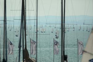 Light wind but fantastic mood at the Rooster Laser Europa Cup & BYC CUP