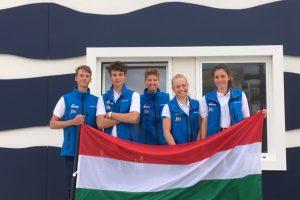 Európa-bajnokságon a Laser 4.7 csapat