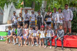 Optimist B és C csapatos versenyzőink a Nádas Kupa sorozat II. állomásán
