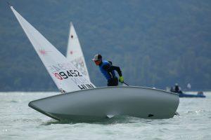 A Laser EC versenysorozatban az utolsó forduló előtt BYC-es versenyzők állnak az élen