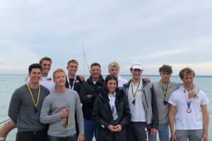 Éremeső az olimpiai Laser osztályok bajnokságán
