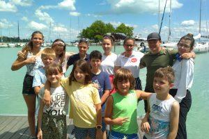 Nagycsaládos gyerekek táboroztak a BYC-ben