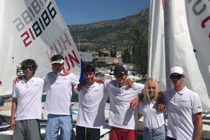 Az ellentétek versenye! - Laser Radial Ifjúsági Európa Bajnokság - Csomesz beszámolója